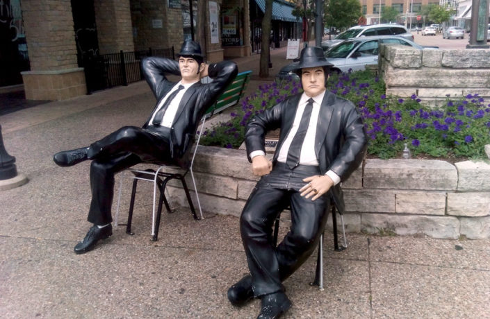 Jake & Elwood Blues - The District of Rock Island, IL - QC Pizza