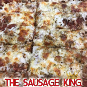 QC Pizza - Quad City Style - Sausage King Specialty Pizza - Order Call (651) 777-1200