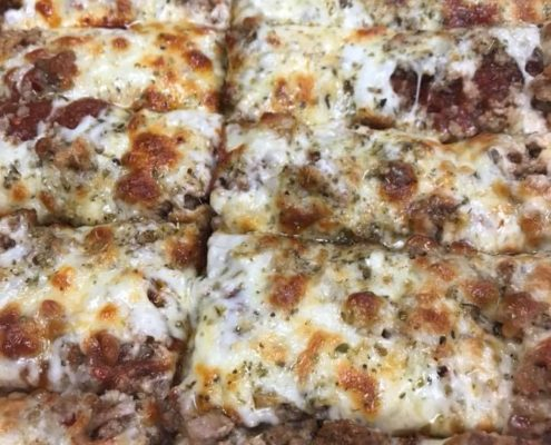 QC Pizza - Sausage King 16inch Shown- Quad City Style Pizza Call (651) 777-1200 to Order!