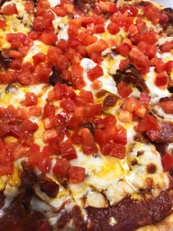 QC Pizza - Quad City Style Chicken Bacon Ranch Pizza