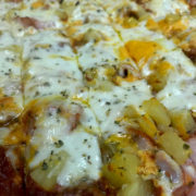 QC Pizza Hawaiian Pizza - Quad City Style Pizza