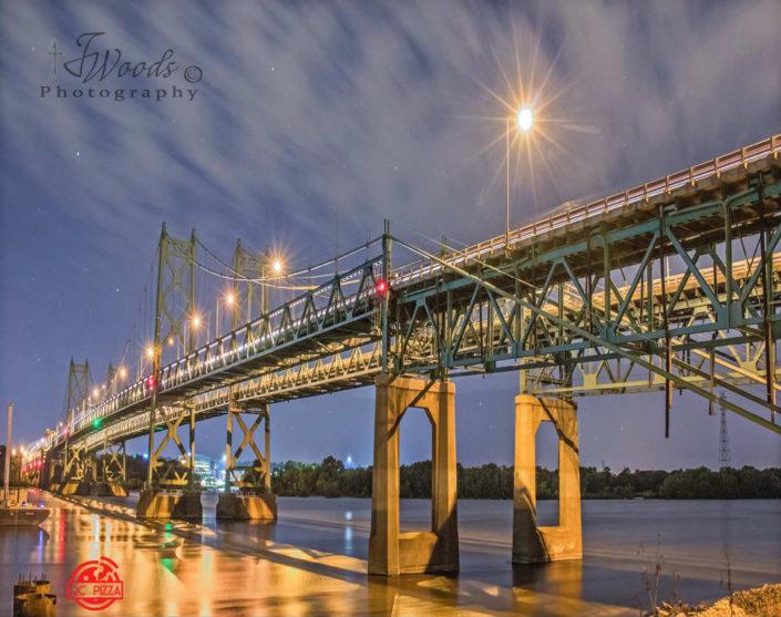 I74 bridge Moline IL to Davenport & Bettendorf IA
