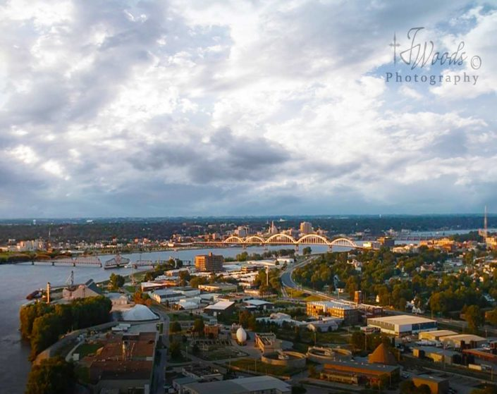 On top of the World by Jerry Woods | The Quad Cities