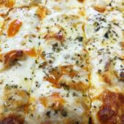 QC Pizza - Buffalo Chicken Pizza