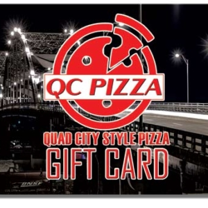 QC Pizza Gift Card - Great Gift Idea!