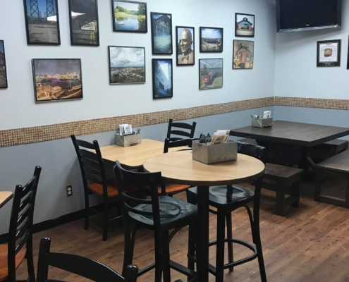 QC Pizza Dinning Area