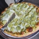 Kind Big Dill Pizza Cheese Pull | QC Pizza Mahtomedi MN.