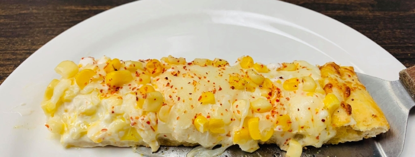 Hola Elote Pizza   QC Pizza   12 inch only @ this time