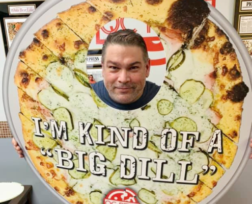 Dennis Schneekloth - QC Pizza Owner, Chef, and Funmaster!