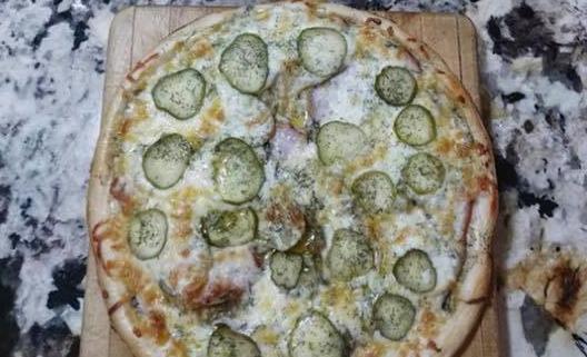 Frozen Big Dill Pizza QC Pizza Mahtomedi MN
