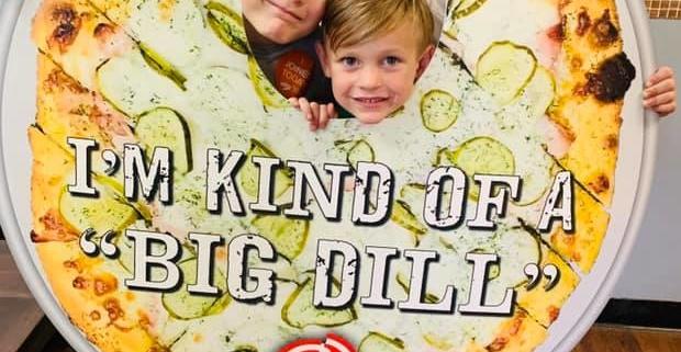 A BUNCH OF A BIG DILLS - QC Pizza - Mahtomedi MN.