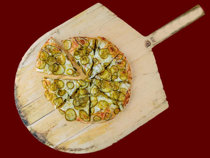 QC Frozen Pizza Take-n-Bake Kinda Big Dill Pizza