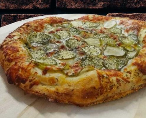 Frozen Kinda Big Dill Pizza