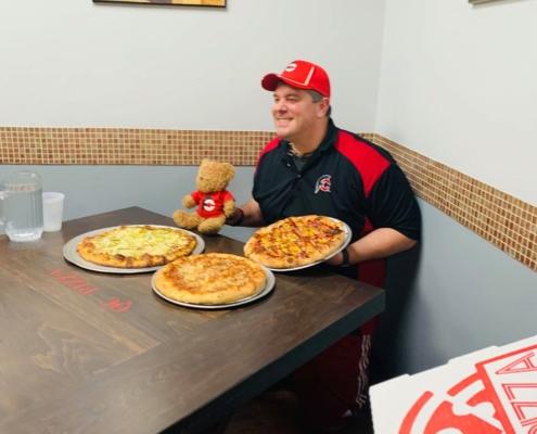 Randy Santel @ QC Pizza Mahtomedi MN. Big Dill Challenge