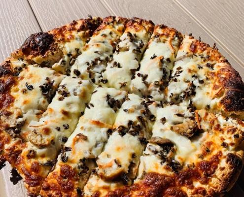 Chicken Wild Rice Pizza - QC Pizza MN.