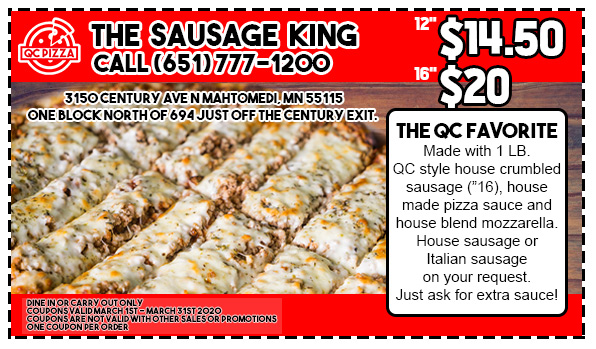 March Sausage King Special