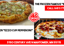 QC Frozen pizza is back! Frozen Big Dill Pizza & Ezzo supreme cup pepperoni