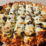 Chicken wild rice pizza - QC Pizza Mahtomedi MN.