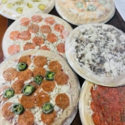 QC Frozen Take-n-Bake Pizza - QC Pizza Mahtomedi MN.