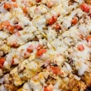 QC Pizza - Jerk Chicken Pizza